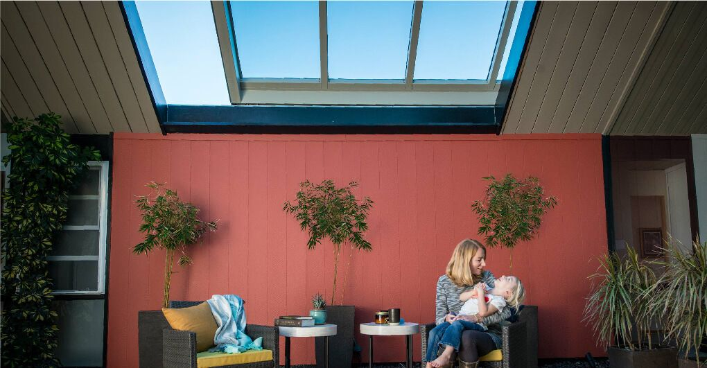Eichler family living space