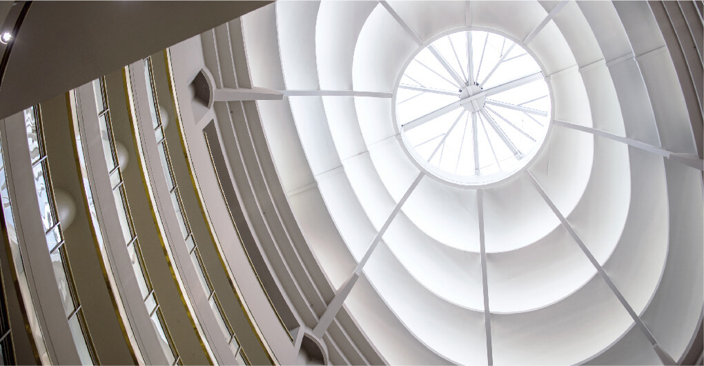 Shopping Center Retractable Roof
