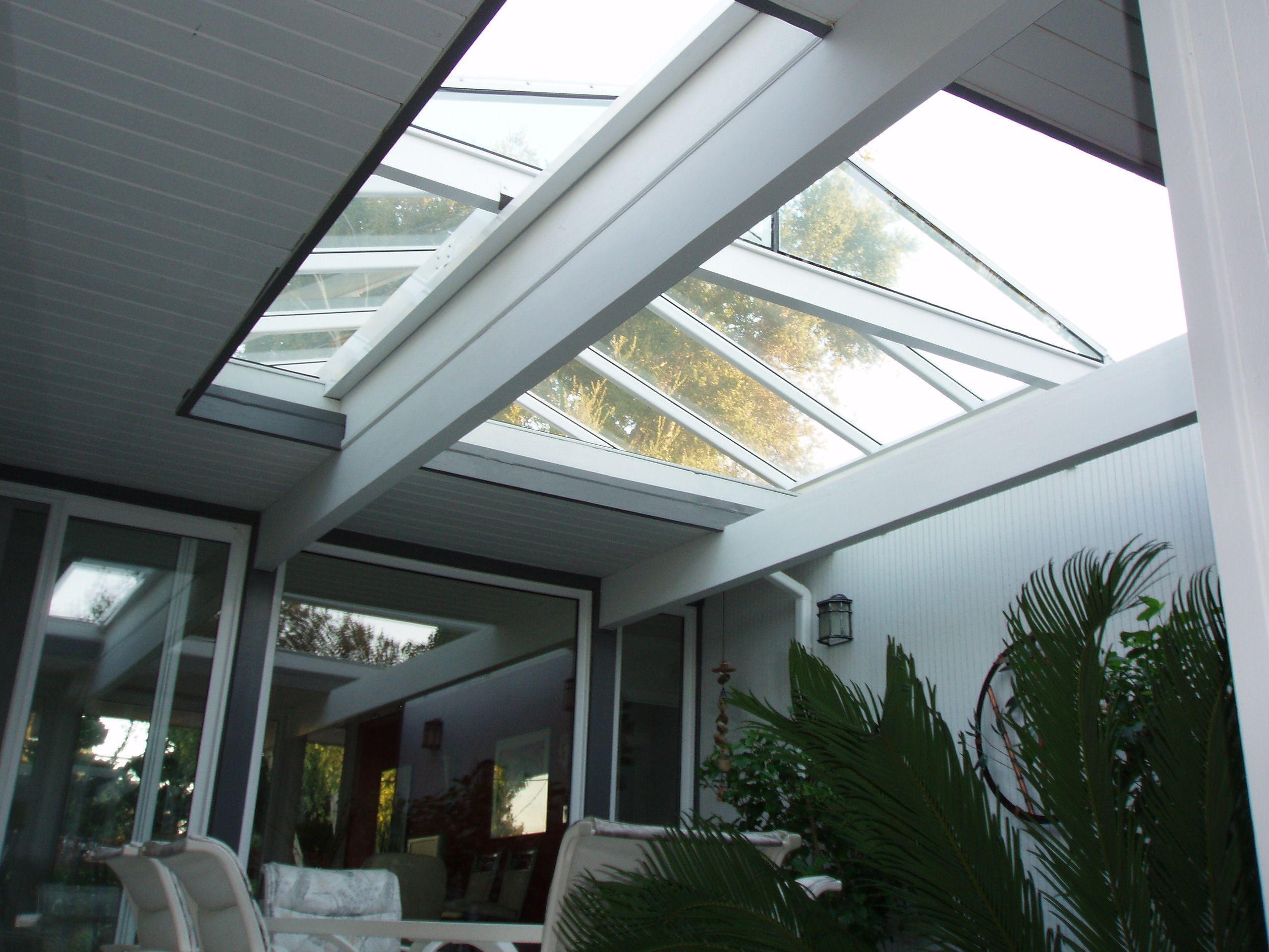 Eichler ridge roof